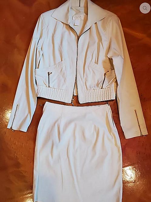 2 Piece Skirt Suit.