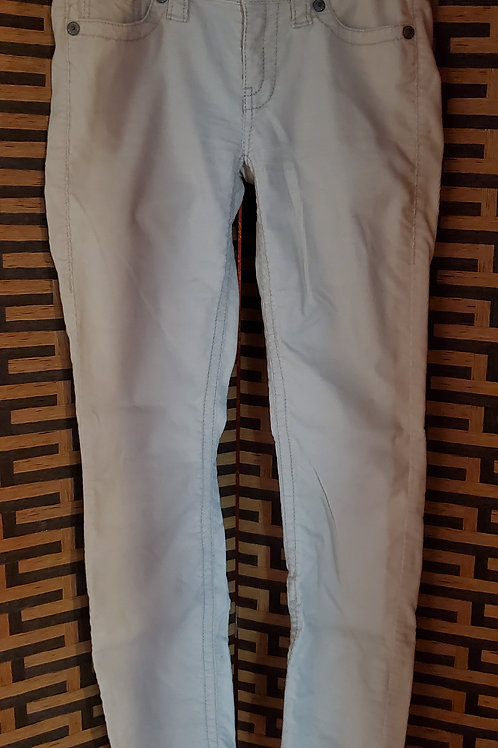 White Corduroy London Jeans