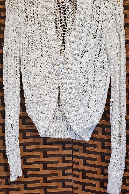 NAFNAF Imported White Sweater / Size Medium