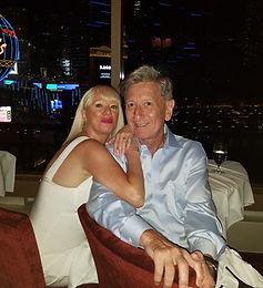 Linda with her husband, Bob Runstein