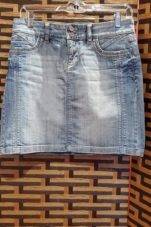 Mini Blue Jean Skirt