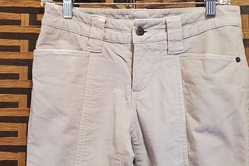 Light Grey Velvet Jeans London