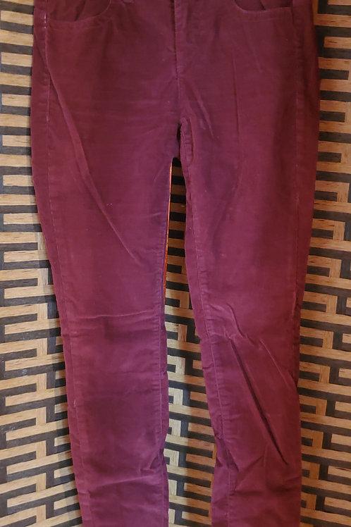 Purple Corduroy London Jeans