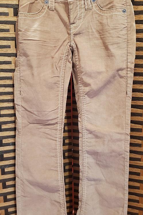 Beige Corduroy London Jeans