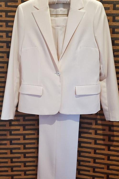 Ivory Pants Suit