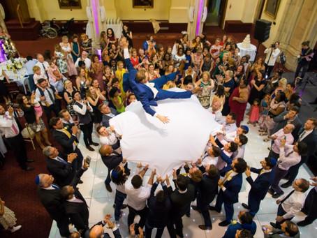 Played the Hora forAshley & Eddie's Wedding