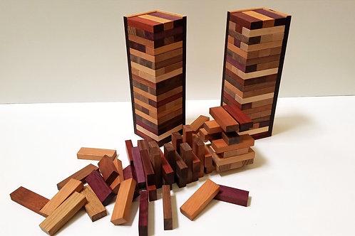 Exotic Wood Stacking Game