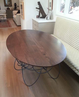 Walnut%20Table%20with%20Modern%20white%2