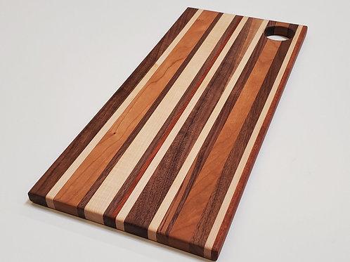 Solid Wood Cutting Board w/ Easy Grip