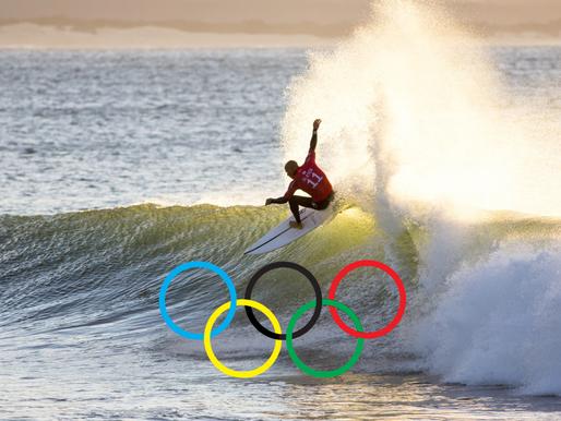 Le surf aux Jeux Olympiques de Paris