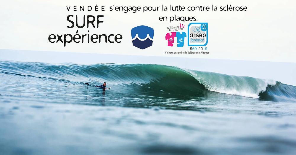 Vendée surf ARSEP sport santé école de surf