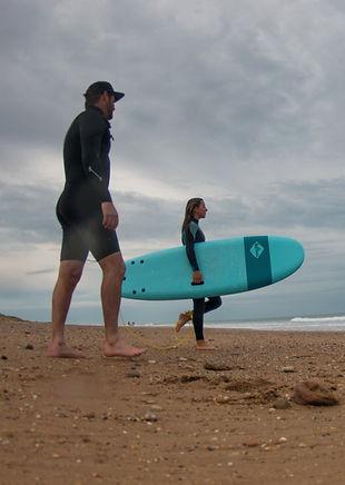 école de surf vendée toursime longeville la tranche les sables