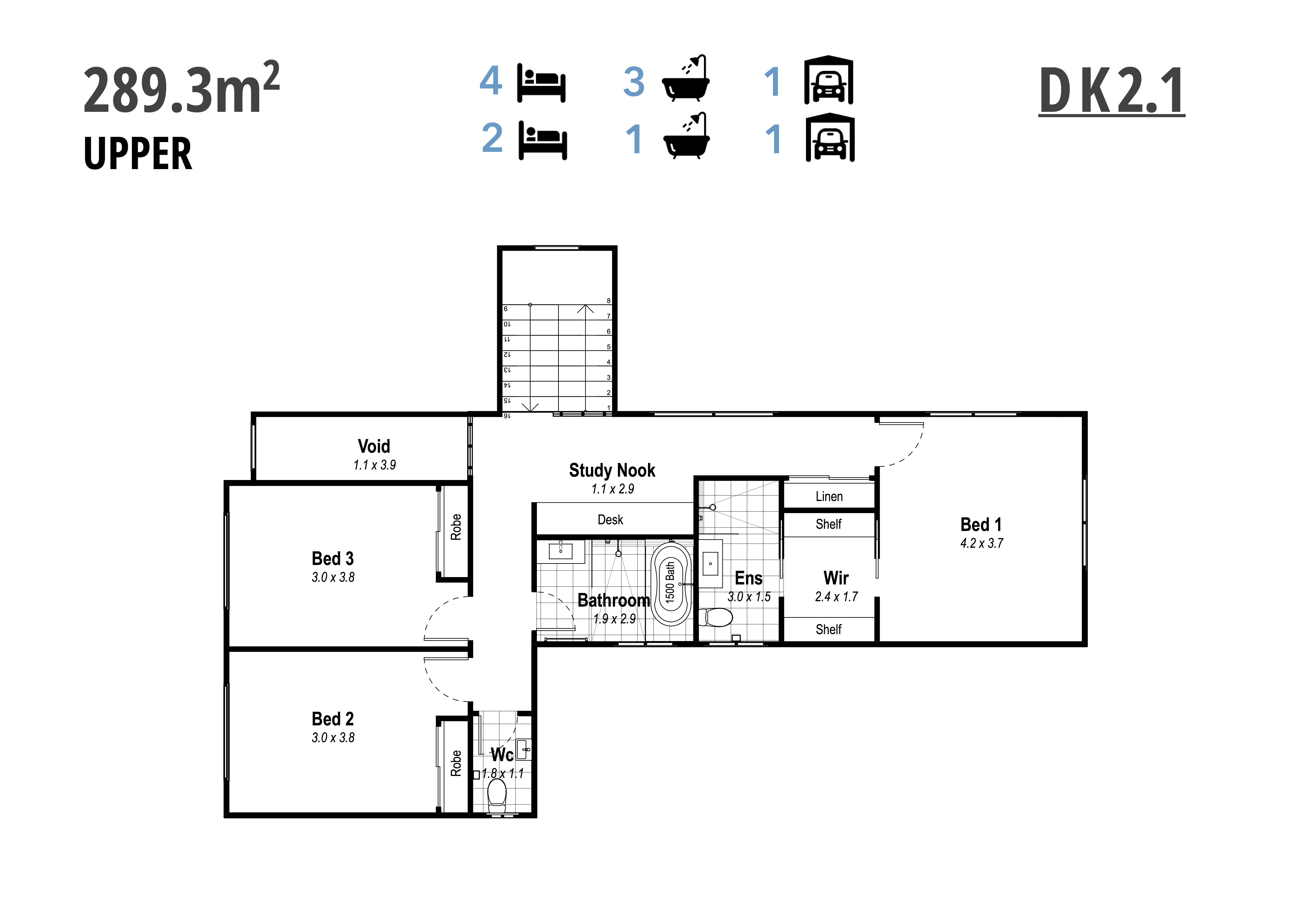 DK2.1 Upper