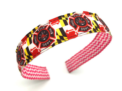 Maryland Fire Department Headband