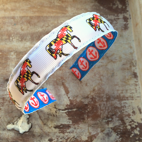 Maryland Flag Horse Headband