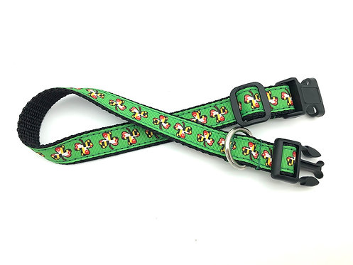 Maryland Flag Shamrock Dog Collar & Leash