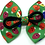 Thumbnail: Christmas Lights Dog Bow Tie