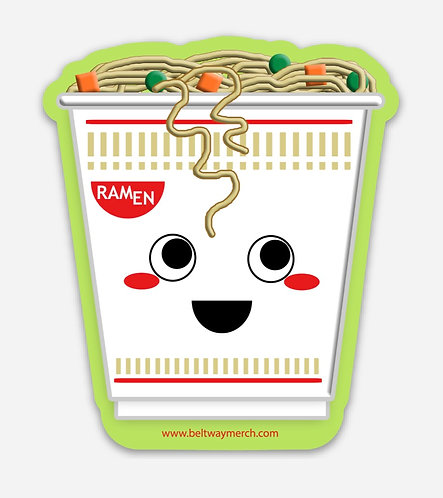 Ramen Cup Sticker