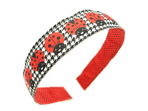 kawaii ladybugs headband