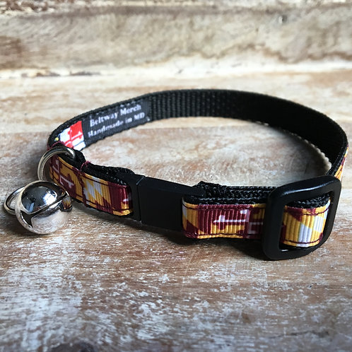 Redskins Maryland Flag Cat Collar