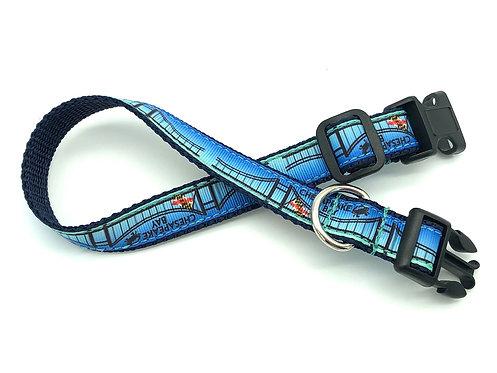 Chesapeake Bay Bridge Dog Collar