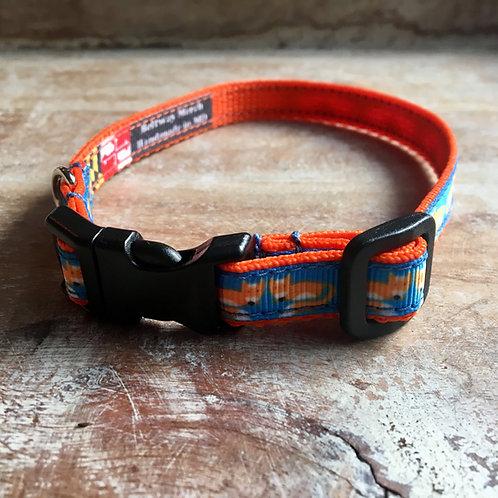 Sheridan Fox Dog Collar & Leash