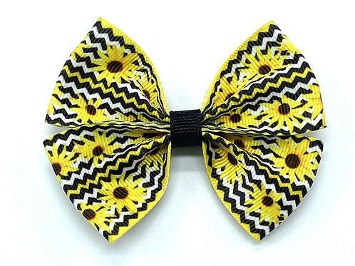 Black-Eyed Susan Collar Bow Tie