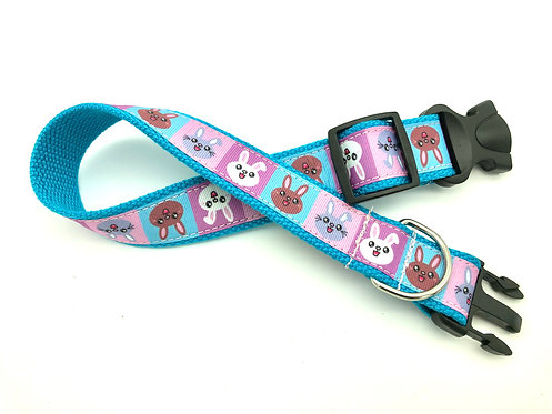 kawaii bunny rabbit dog collar