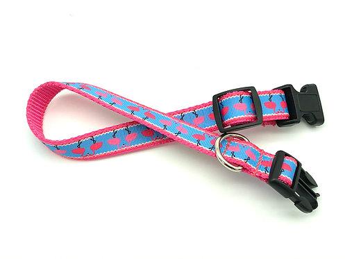 Pink Flamingo Dog Collar