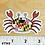 Thumbnail: Small Happy Maryland Crab Magnet