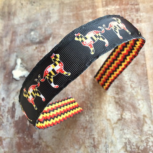 Maryland Flag Cats Headband