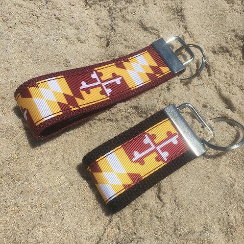 Redskins Maryland Flag Key Chain