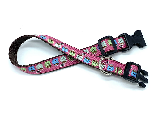 "3/4 inch ""We Own You"" Coffee Collar or Leash"