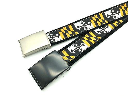 Towson University Maryland Flag Belt