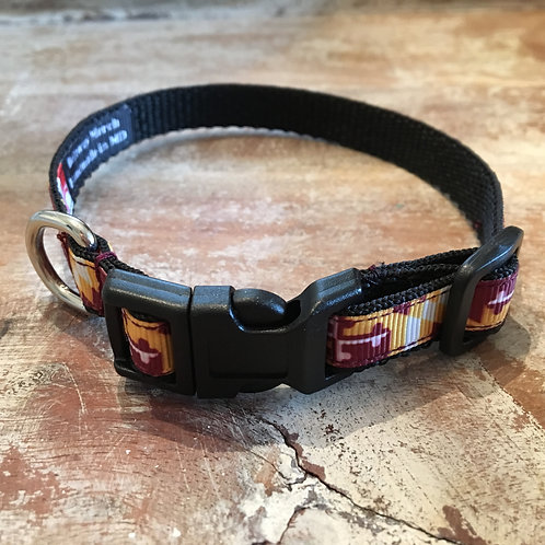 Redskins Maryland Flag Dog Collar