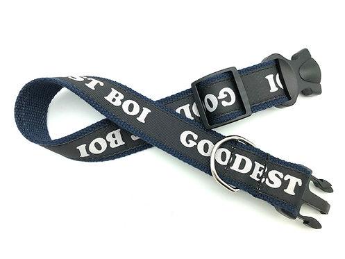"""""""GOODEST BOI"""" Dog Collar"""