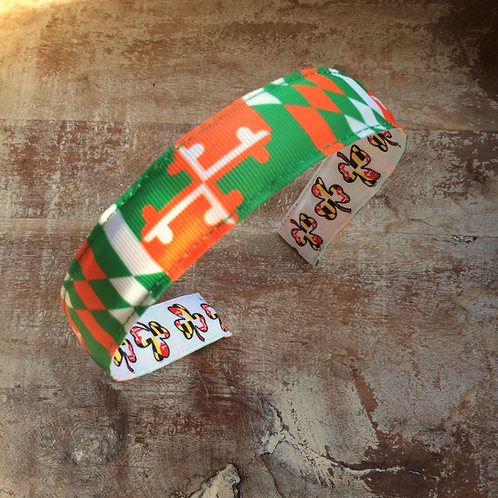 Irish Maryland Flag Headband