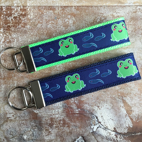 Frog & Tadpole Key Chain