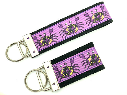 Baltimore Ravens Purple Crab Key chains