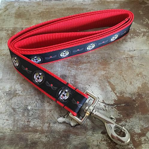 Baltimore Saints Dog Leash (Red /Black Ribbon Version)