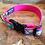Thumbnail: Rainbow Clouds Dog Collar & Leash