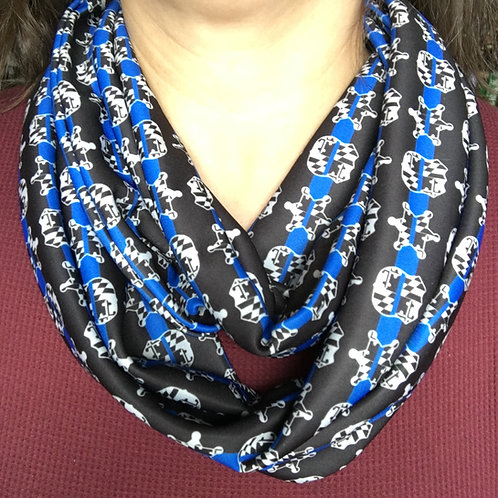 Maryland Police Infinity Scarf