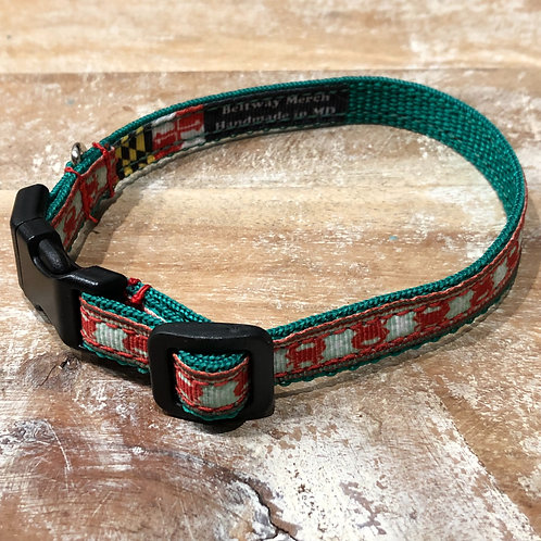 Crabs for Christmas Dog Collar & Leash