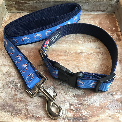 city of frederick flag dog collar and leash
