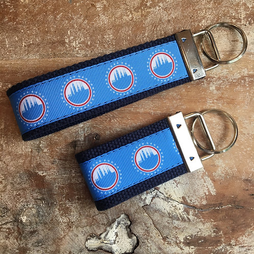 city of frederick flag key chains