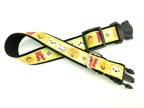 kawaii bacon dog collar