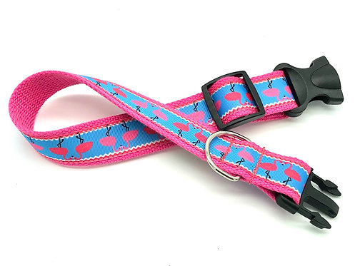 Hot Pink Flamingo dog collar hey hon baltimore
