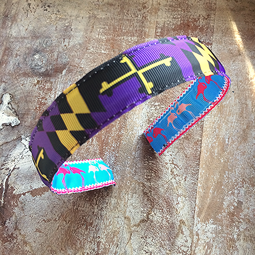 Ravens Maryland Flag Headband