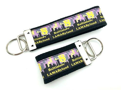 Baltimore LAMARyland Key Chain