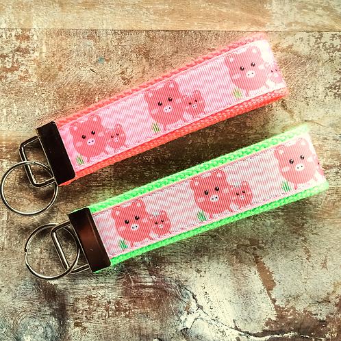 Little Piggy Key Chain